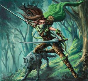 Forest Elf Ranger - Armor & Ash