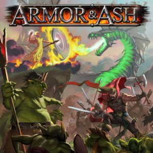 Armor & Ash Card Game Box Cover